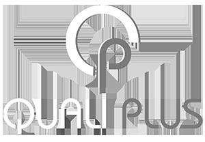 Logo Qualiplus Inc Blanc